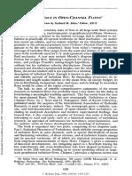 Jirka 1994 Turbulence in Open‐Channel Flows
