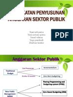 Pendekatan Penyusunan Anggaran Sektor Publik