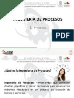 Ing. Procesos. Unidad I