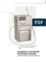 Sequential Air Sampler Envirotech Apm 500