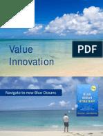 Blue Oceans Value Innovation