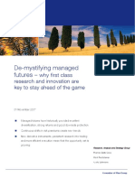 De Mystifying ManagedFutures
