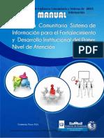 Manual de Vigilancia Comunitaria y Sistema de Informacion