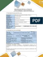 Guía de Actividades y Rúbrica de Evaluación - Paso 3 - Analizar El Caso Violencia Escolar