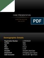 Case Presentation ETD ( COPD )