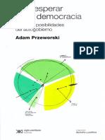 16.Przeworski, A. - Introducción, En Qué Esperar de La Democracia