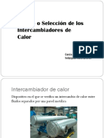 Diseño y Seleccion de los intercambiadores de calor