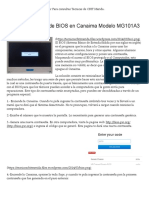 Quitar Contraseña de BIOS en Canaima Modelo MG101A3 _ Tecnicos CBIT Merida Blog