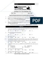 4year Sample Paper-2