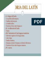El Latin y Su Origen PDF
