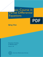 A Basic Course in Partial Differential Equations - Qing Han