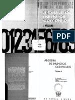 Algebra de Numeros Complejos, Vol VI, Williams J
