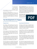 Tax developments in Uruguay -- Guzmán Ramírez