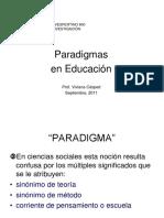 Paradigmas en Educacion1