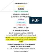 peachtree tennis club junior league flyer fall 20017