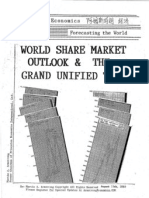 World Share Market Outlook & The Grand Unified Theory 8-15-2010