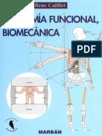 (René Cailliet) - Anatomía Funcional Biomecánica - 1°Edición
