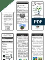 El ahorro de la energía eléctrica y la clasificación de la basura