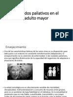 Cuidados Paliativos en El Adulto Mayor