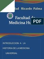 1. Introducción a La Historia de La Medicina