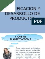 Planificacion y Desarrollo de Productos