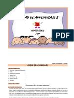 UNIDAD DE APRENDIZAJE   1° -  OCTUBRE
