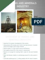 Ratio Analysis - Mining Industries