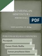 Perkembangan Arsitektur 1 3