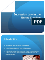 Succession Law in the UK