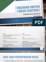 Sistem Kendali Wesel