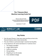 The 7 Reasons Most Machine Learning Algos Fail