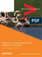 Accenture Cloud Application Migration Services
