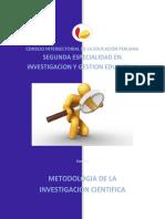 CURSO 2 Metodologia de La Investigacion Cientifica