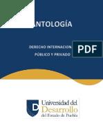 9-1 ANTOLOGIA Derecho Internacional Publico y Privado