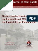 phnom penh housing market   outlook report 2016