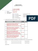 Format Penilaian KTI