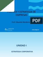 UNIDAD I. La Estrategia Corporativa. (2)