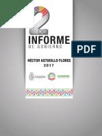 Héctor Astudillo Segundo Informe de Gobierno