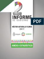 Héctor Astudillo Segundo Informe de Gobierno Estadístico