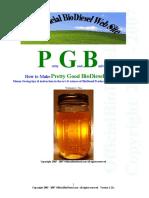 Alternative Fuel - Pretty Good BioDiesel 121a Watermarked