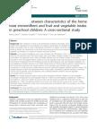 Associations Between Characteristics of the Home