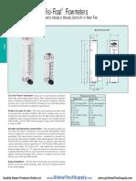 Dwyer Vfa 7 Bv Flow Meter Datasheet