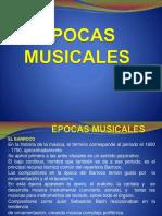 ÉPOCAS de La Historia de La Música