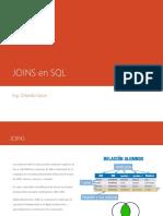 Joins en SQL