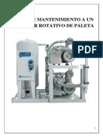 Manual de Mantenimiento a Un Compresor Rotativo de Paleta