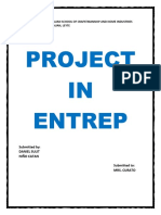 Project in Entrep