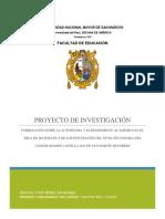 CORRELACIÓN ENTRE LA AUTOESTIMA Y EL RENDIMIENTO ACADEMICO DEL AREA DE MATEMATICA