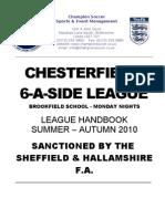 Champion Soccer Handbook