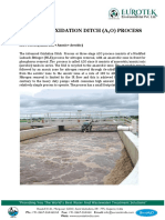 Advanced Activated Sludge Process
