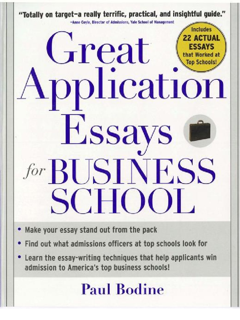 Business School Essays Nedda Gilbert Homework Sample  February  The Princeton Review Complete Book Of Business Schools  Inglese Gives  You Hints On